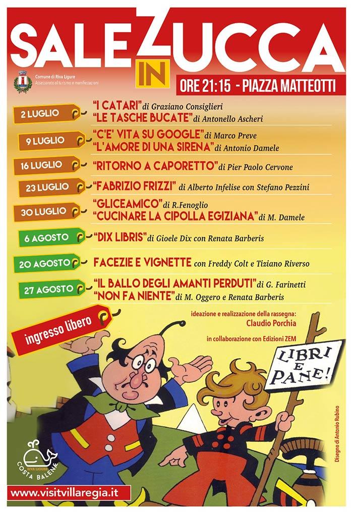 """Lunedì 2 luglio al via la IV° edizione di """"Sale in Zucca"""""""
